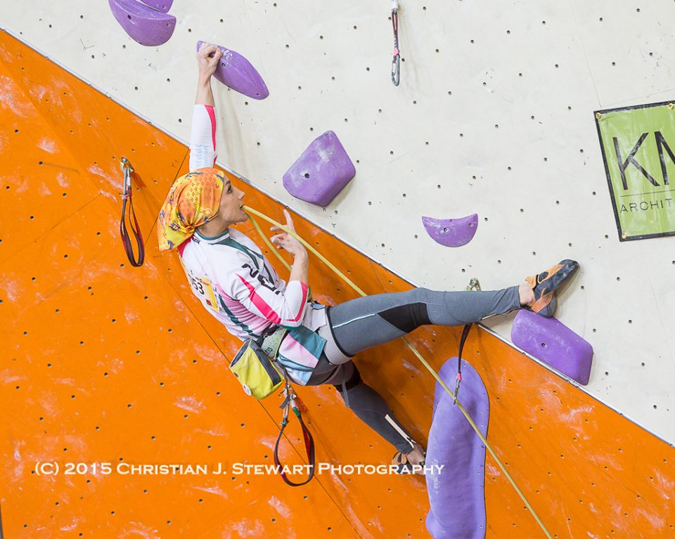 Farnaz: 'Climbing was not just a sport for me.', 112 kb