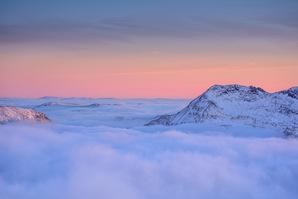 [Pastel shades of winter © johnhenderson]