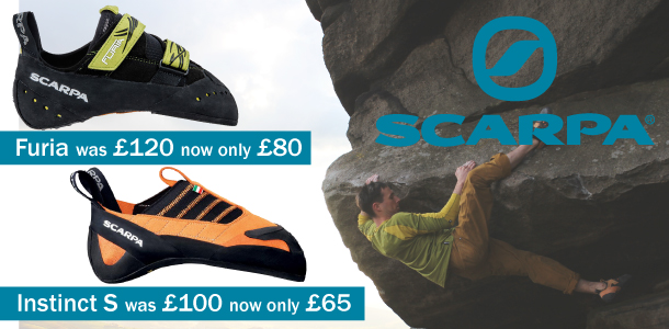 Scarpa Furia and Instinct Slippers on Sale at Outside.co.uk