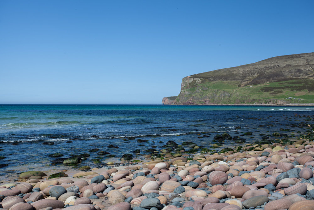 The unbeatable Rackwick Bay, where the journey to the Old Man of Hoy begins, 154 kb