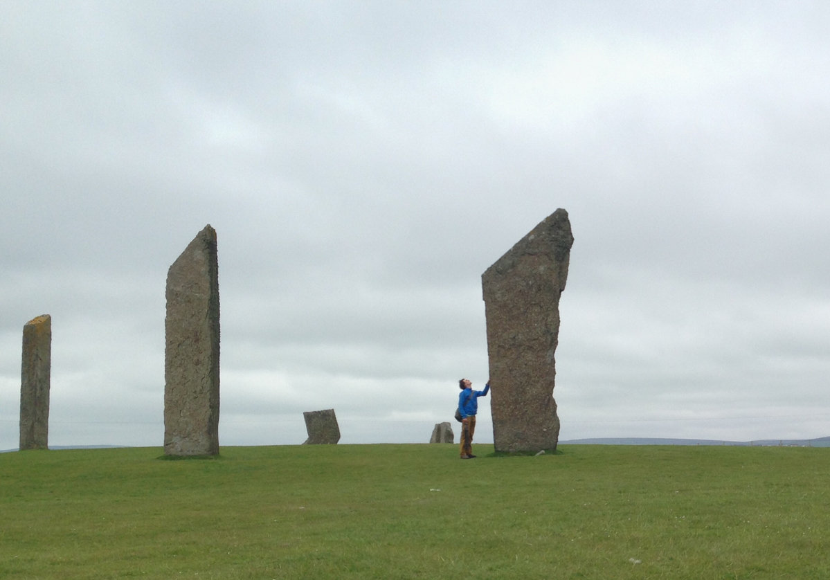 Marvelling at the wonders of the Standing Stones at Sternness (and whether they're highball-able), 108 kb