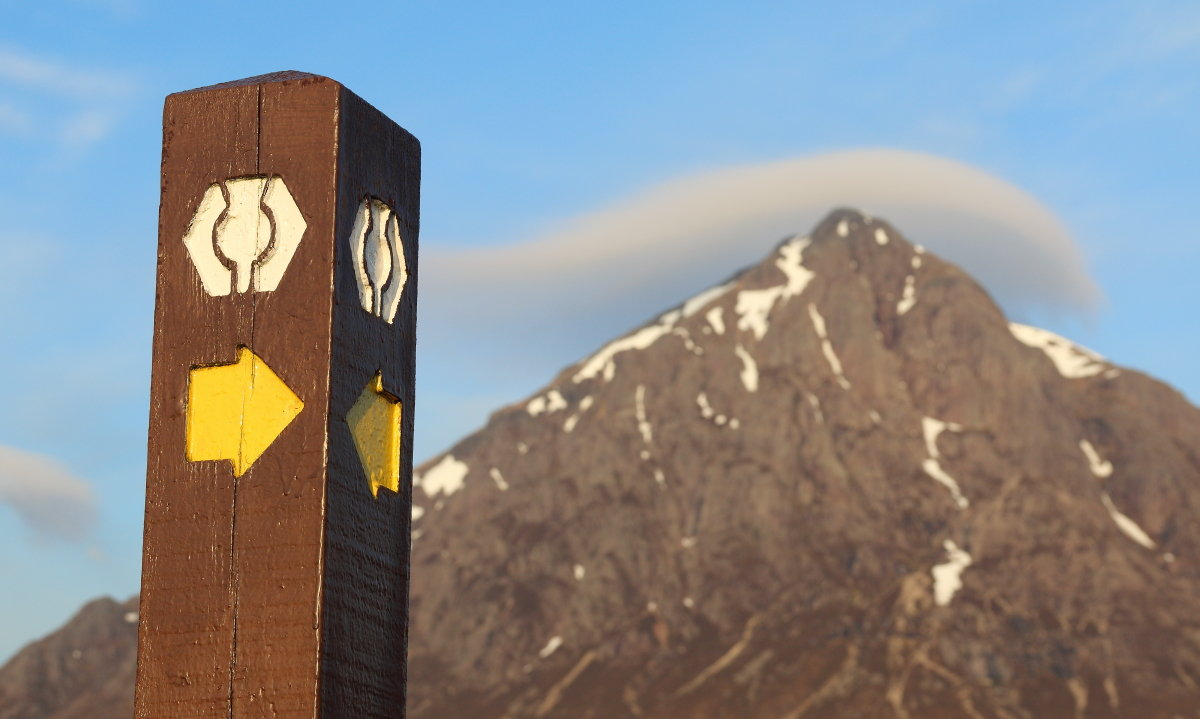 West Highland Way - one of the most public transport-friendly long distance trails, 114 kb
