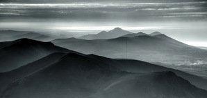 [Evening haze from Snowdon © johnhenderson]