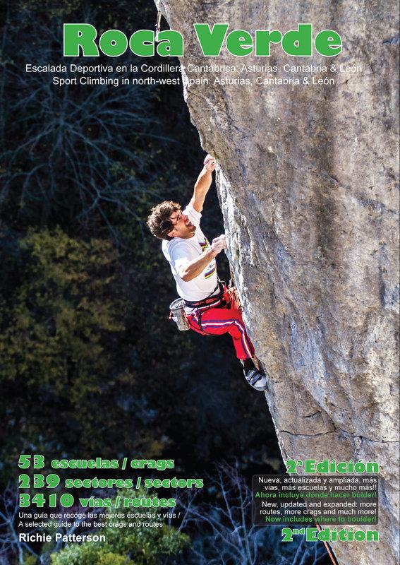The spanking new Roca Verde guidebook, 230 kb
