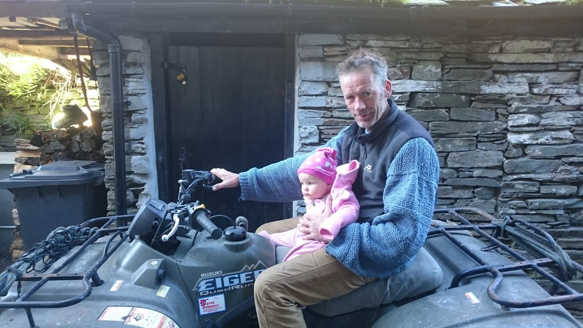 Having fun on a quadbike with May, 182 kb
