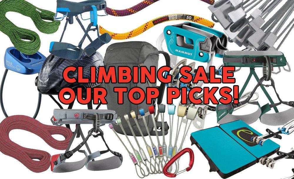 Summer Climbing Gear Deals - up to 39% off!, 200 kb
