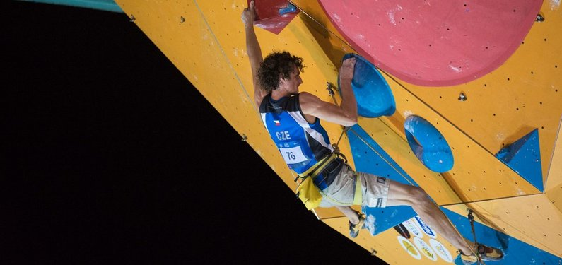 Adam Ondra's first IFSC event of the year in Arco, 46 kb