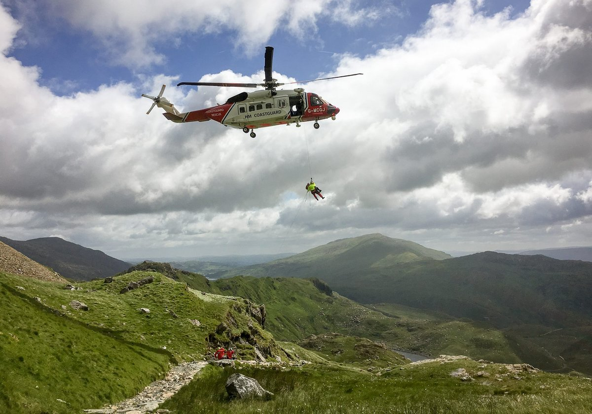 Britain's busiest mountain - and it's getting busier all the time for rescue volunteers, 180 kb