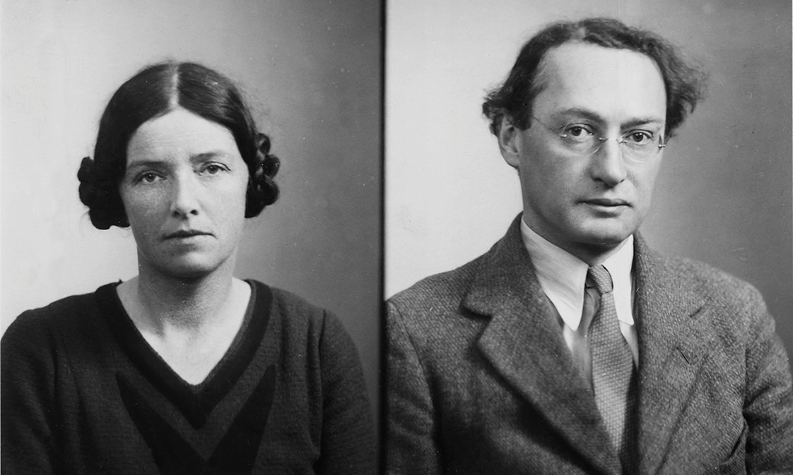 Dorothy Pilley and Ivor Armstrong Richards: Passport photos, 102 kb