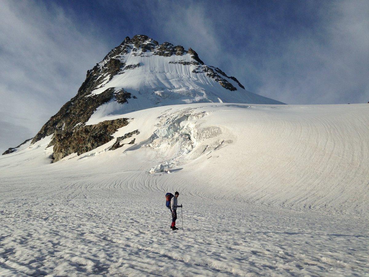Tim on Mont Miné Glacier, September 2014 , 216 kb