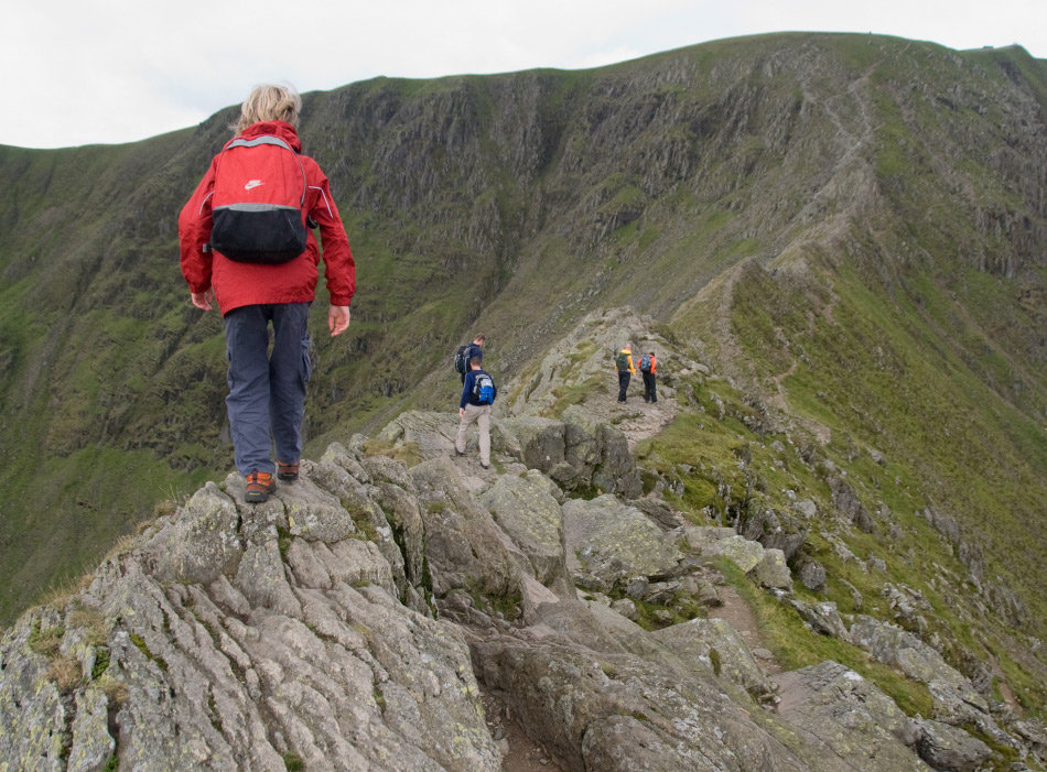 Kitted out for a total cost of £50, but well up for Striding Edge, 188 kb