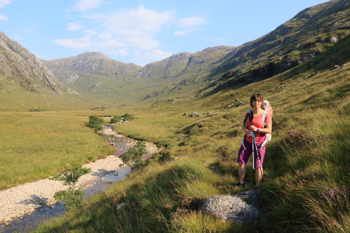 She's done all the Munros and Corbetts, but Lorraine is still keen as mustard, 223 kb