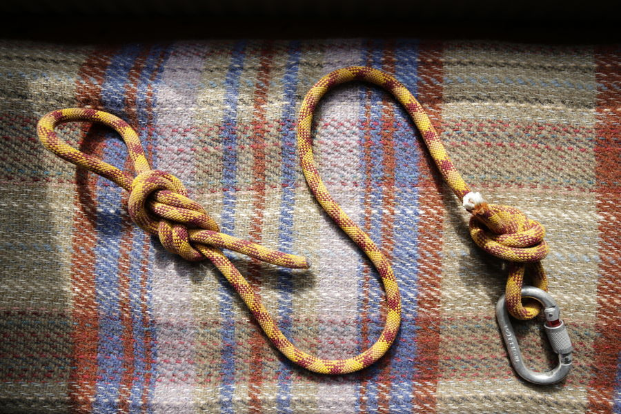 Recycled rope dog lead, 184 kb