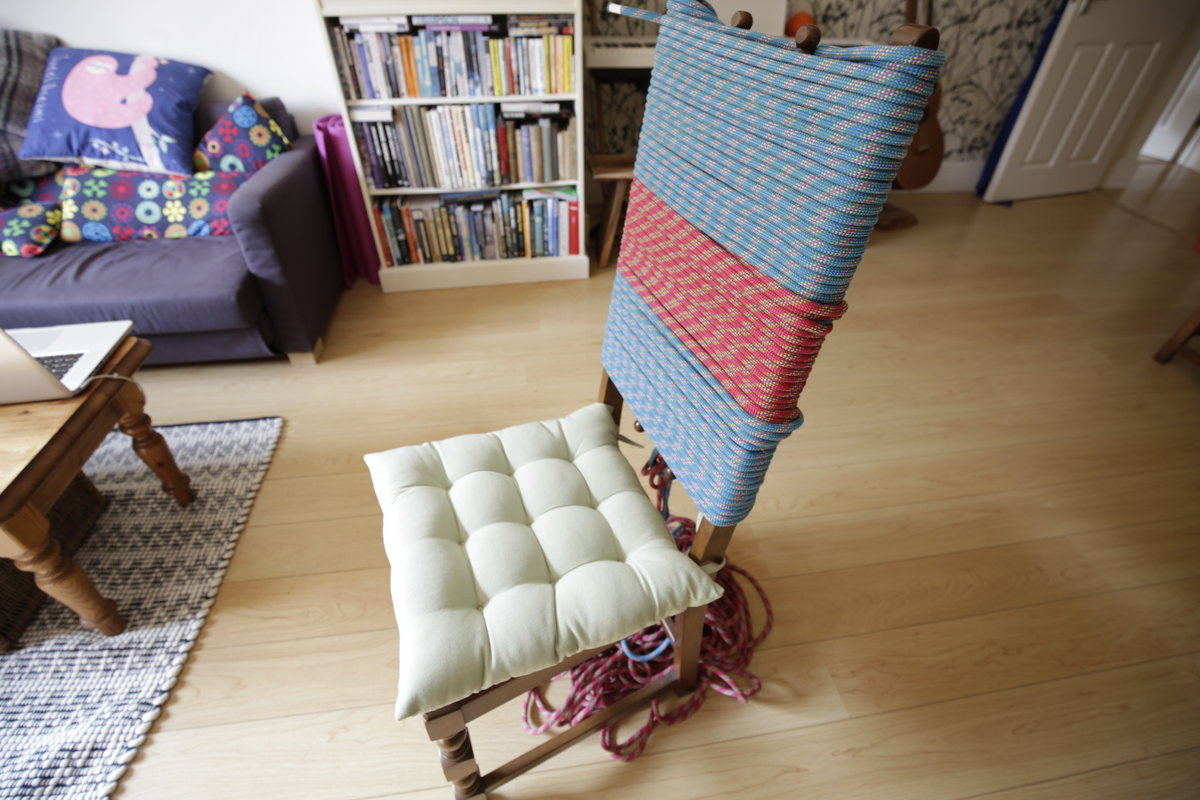 A jazzed-up rope chair, 183 kb