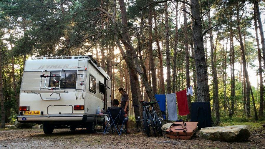 Our Camper Van, 'Sheila', 140 kb