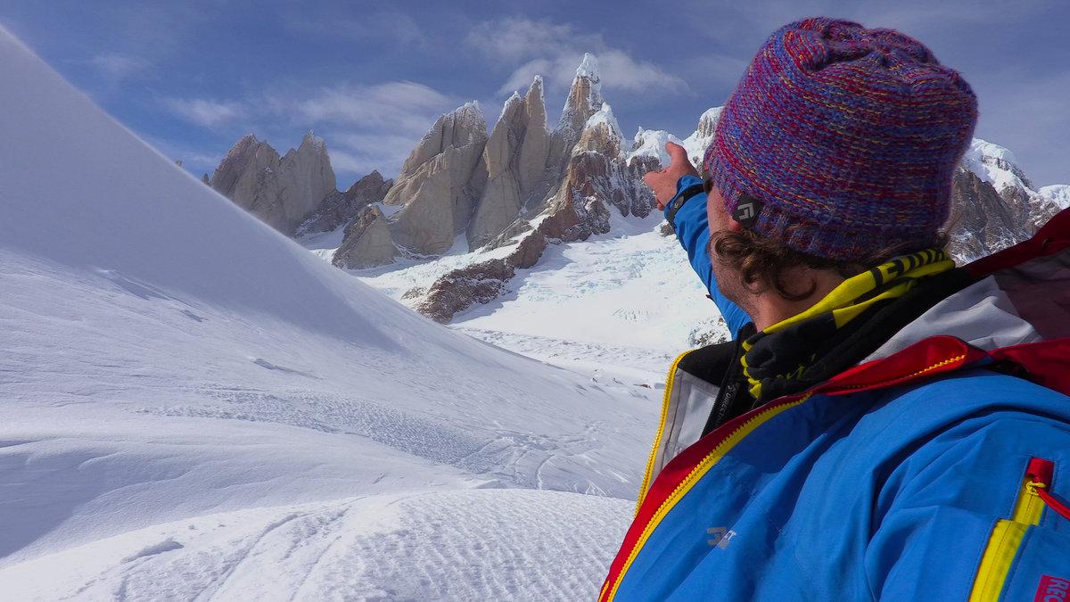 Markus points towards the Cerro Torre group, 178 kb