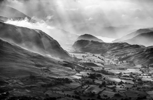[St John's in the Vale from Hall's Fell Ridge. © G. Robertson]