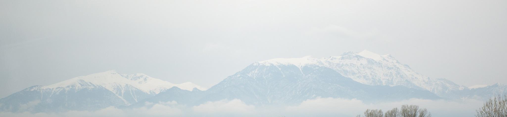 Mount Olympus in winter, 115 kb