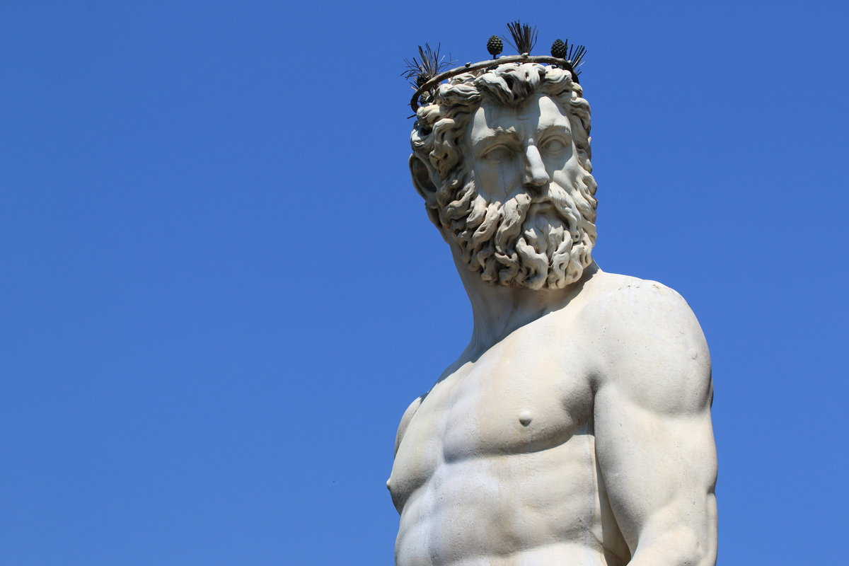 The Greek Gods were said to have watched from the sky above Mount Olympus, 84 kb