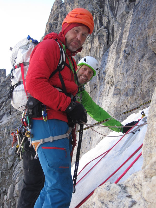 """In the """"Double 00"""" Couloir, 146 kb"""
