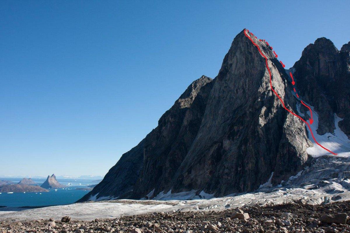 Polar Daze on Mount Hannes, 156 kb