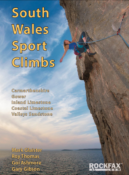 South Wales Sport Climbs Rockfax Cover, 97 kb