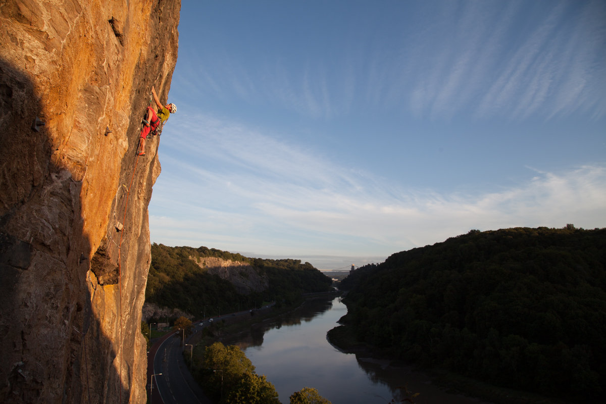 Rob Greenwood on Arms Race in Avon Gorge, 158 kb