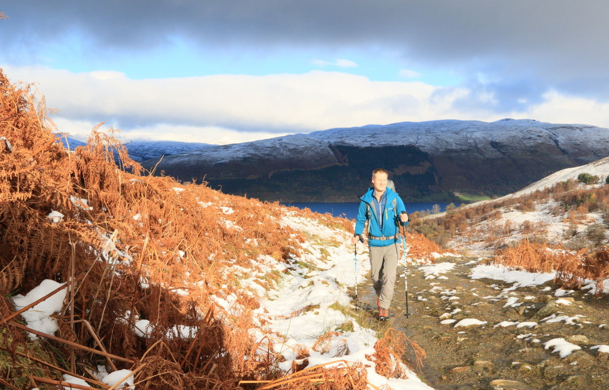 Jottnar Magni above Loch Earn, 220 kb