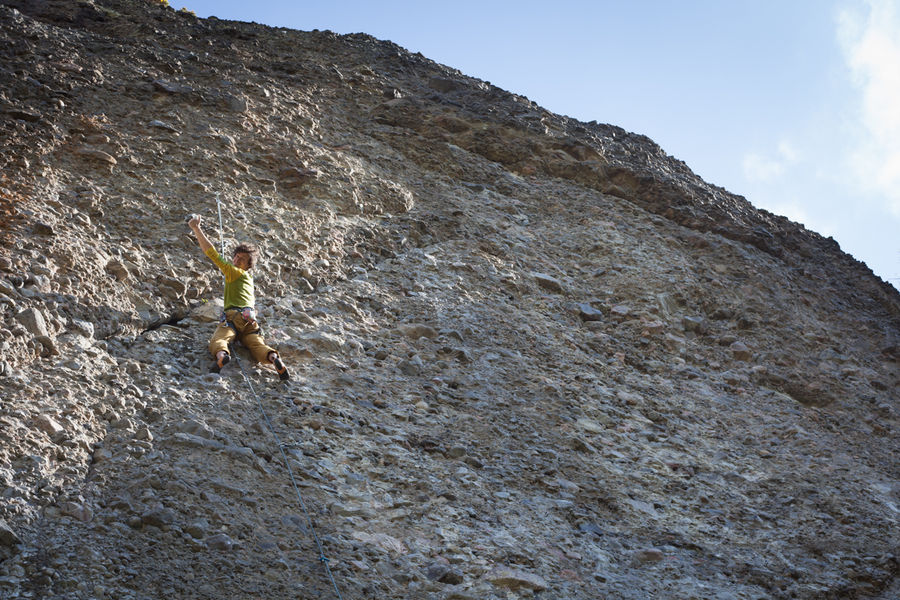 Fiesta de los...Scotland??? Climbing at Moy Rock, not to be mistaken with Riglos, 177 kb