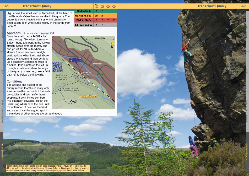 South Wales Sport Climbs Review - Example page 3, 202 kb
