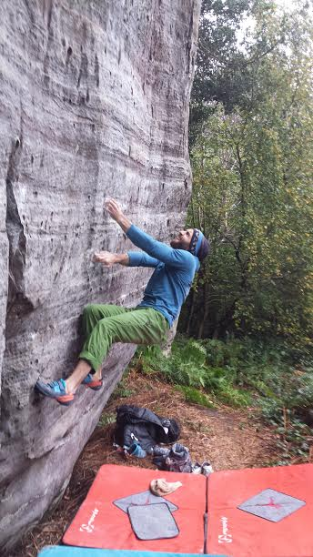 Tom Gore on Patience 7A+, 52 kb