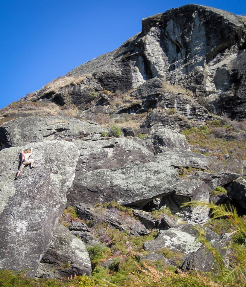 Solo Climbing in Wanaka, NZ. Not too high and not too hard - but is it all worth it?!, 209 kb