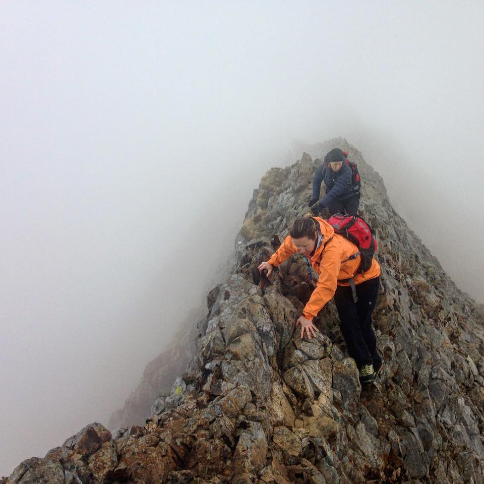 Developing solo climbing skills on a Scrambling Course in Snowdonia, 84 kb