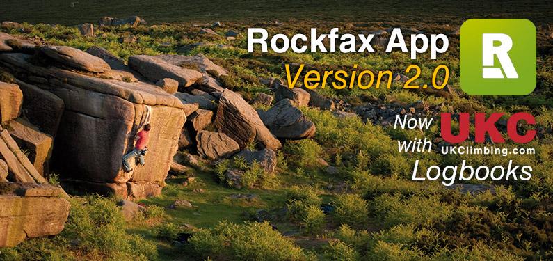 Rockfax App Version 2.0 - Montage, 159 kb