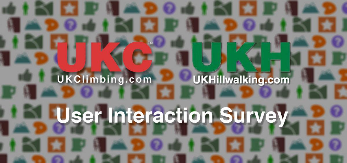 UKC/UKH user interaction survey, 135 kb