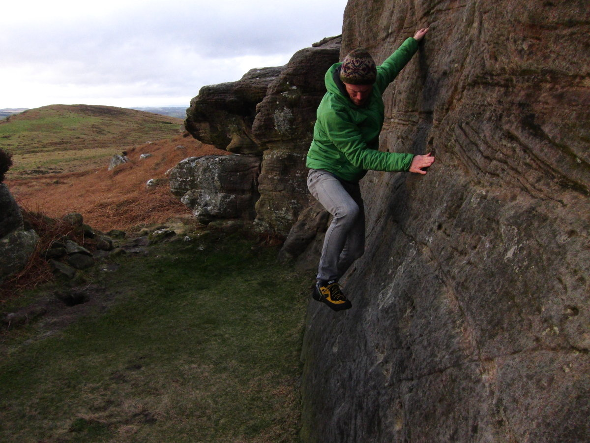Plenty of freedom of movement for climbing, scrambling, even bouldering, 225 kb