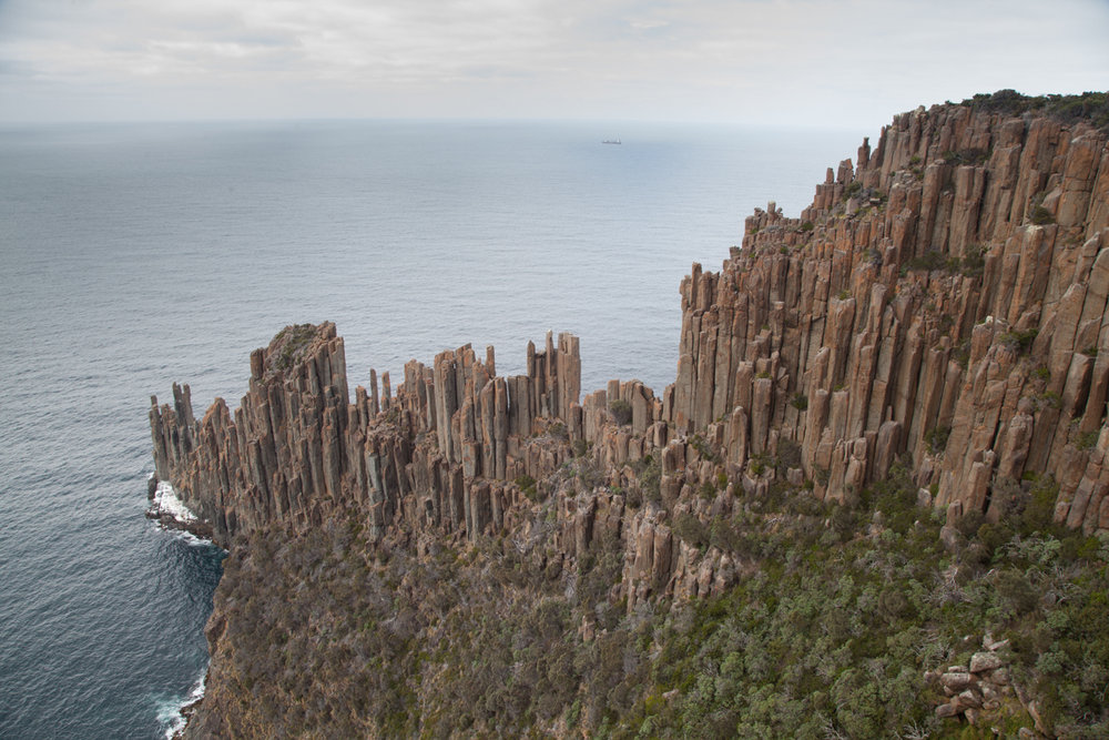 Cape Raoul: home to one of the best mid-grade sport climbs in the world , 179 kb