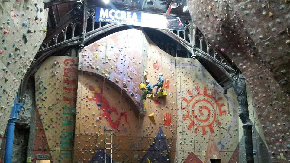 Glasgow Climbing Centre, 81 kb