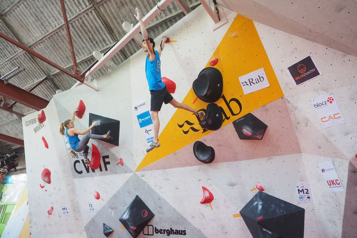 Petra Klingler and Jongwon Chon lead the way into finals, 180 kb