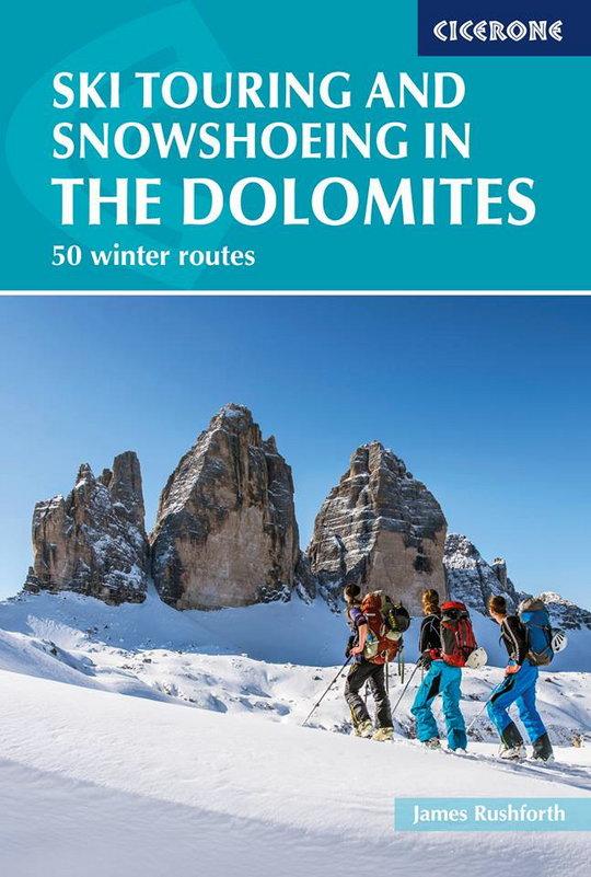 Dolomites ski & snow shoeing cover shot, 93 kb
