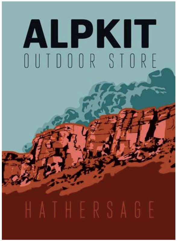 Alpkit Hathersage store flyer, 63 kb