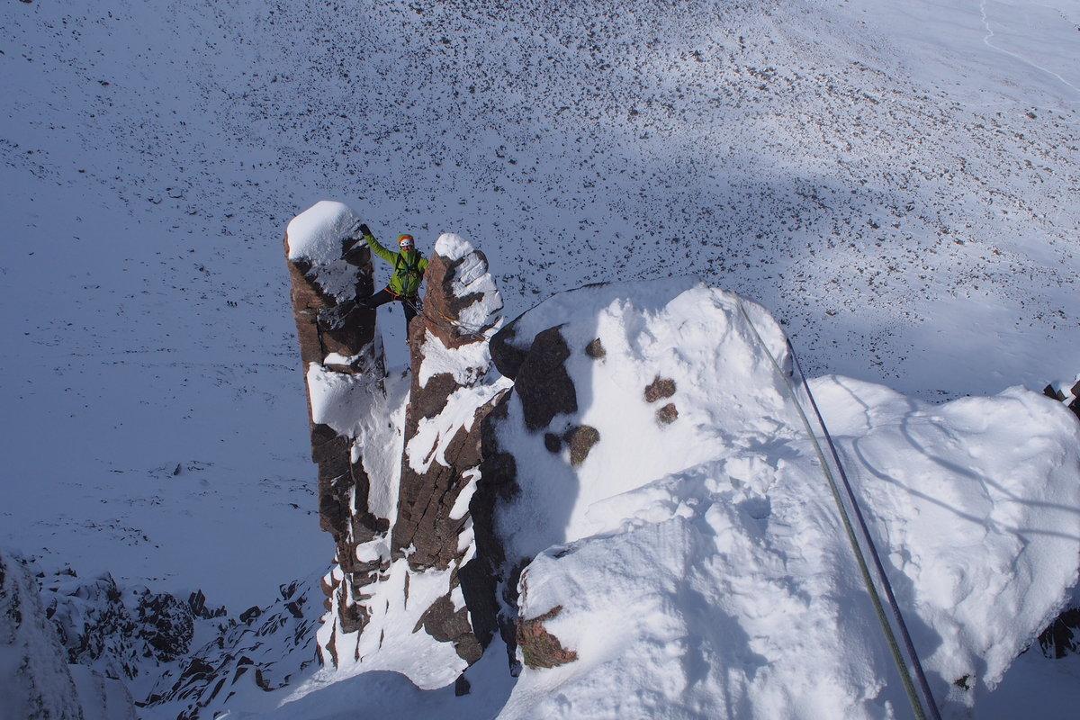 Dave Talbot on Fingers Ridge, 250 kb