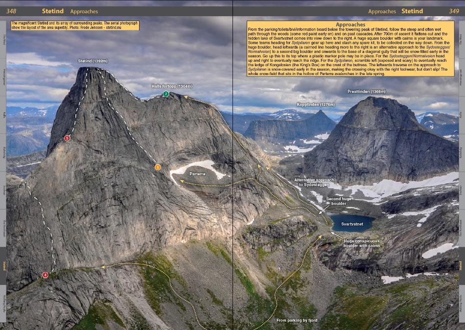 Lofoten Climbs Rockfax - example page, 202 kb