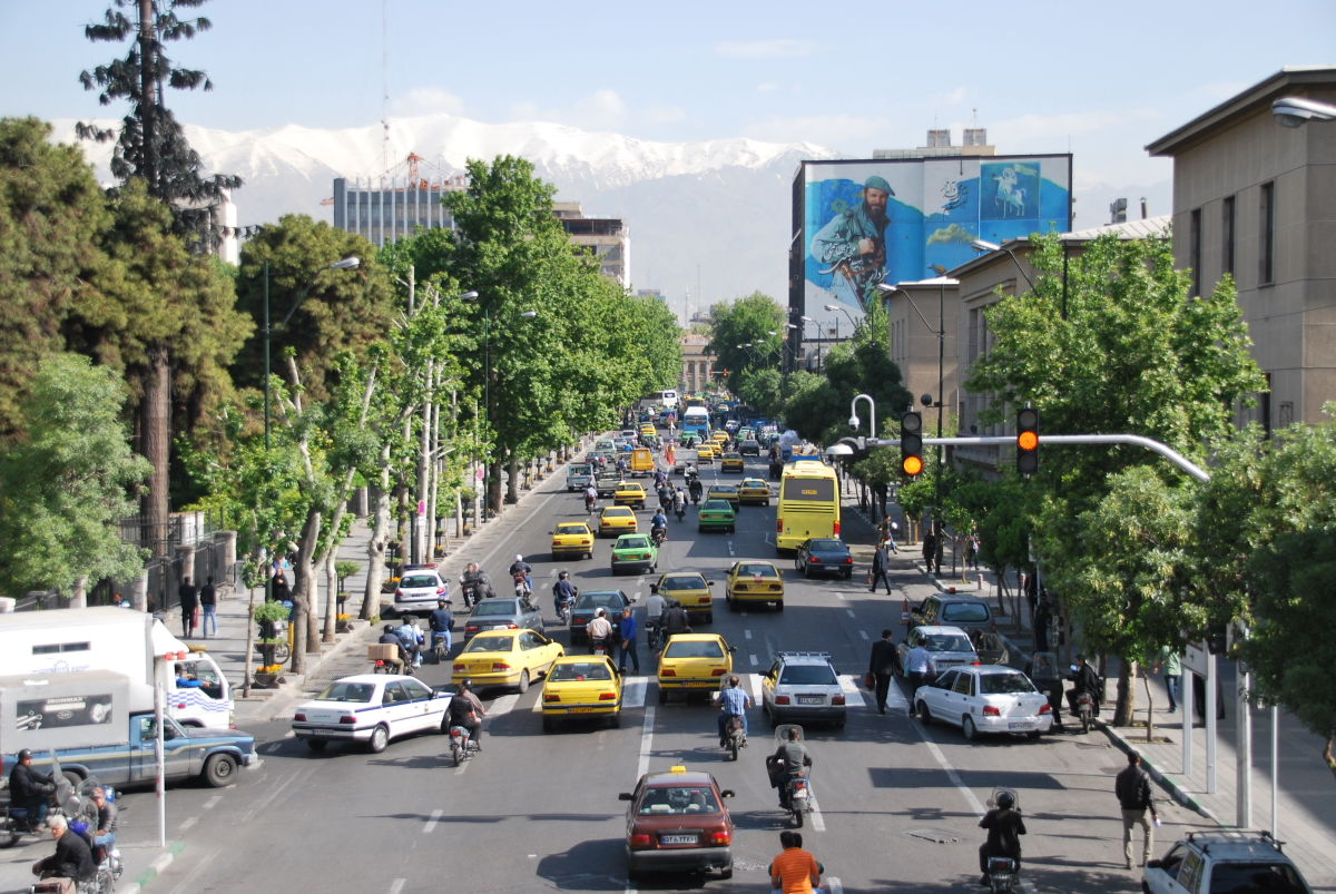 Tehran with 4000m Tochal in the background © UKC Articles