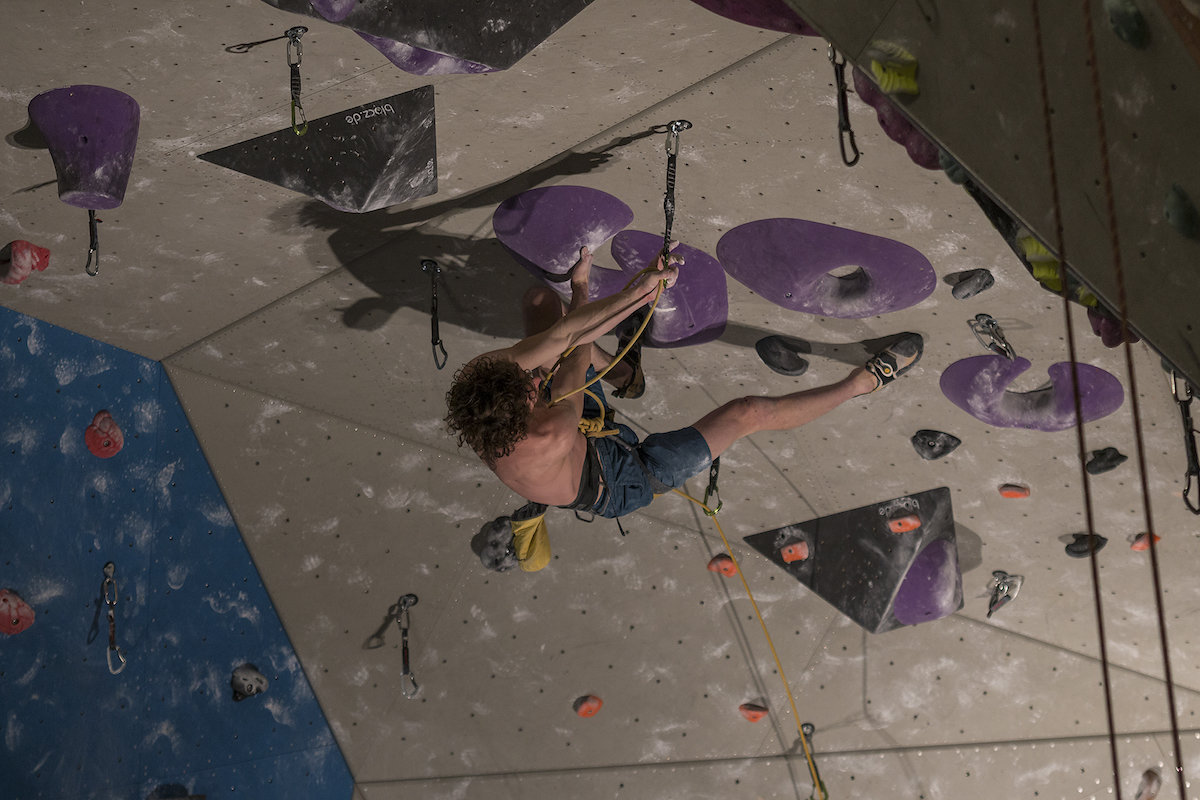 Adam Ondra on The Project, 176 kb