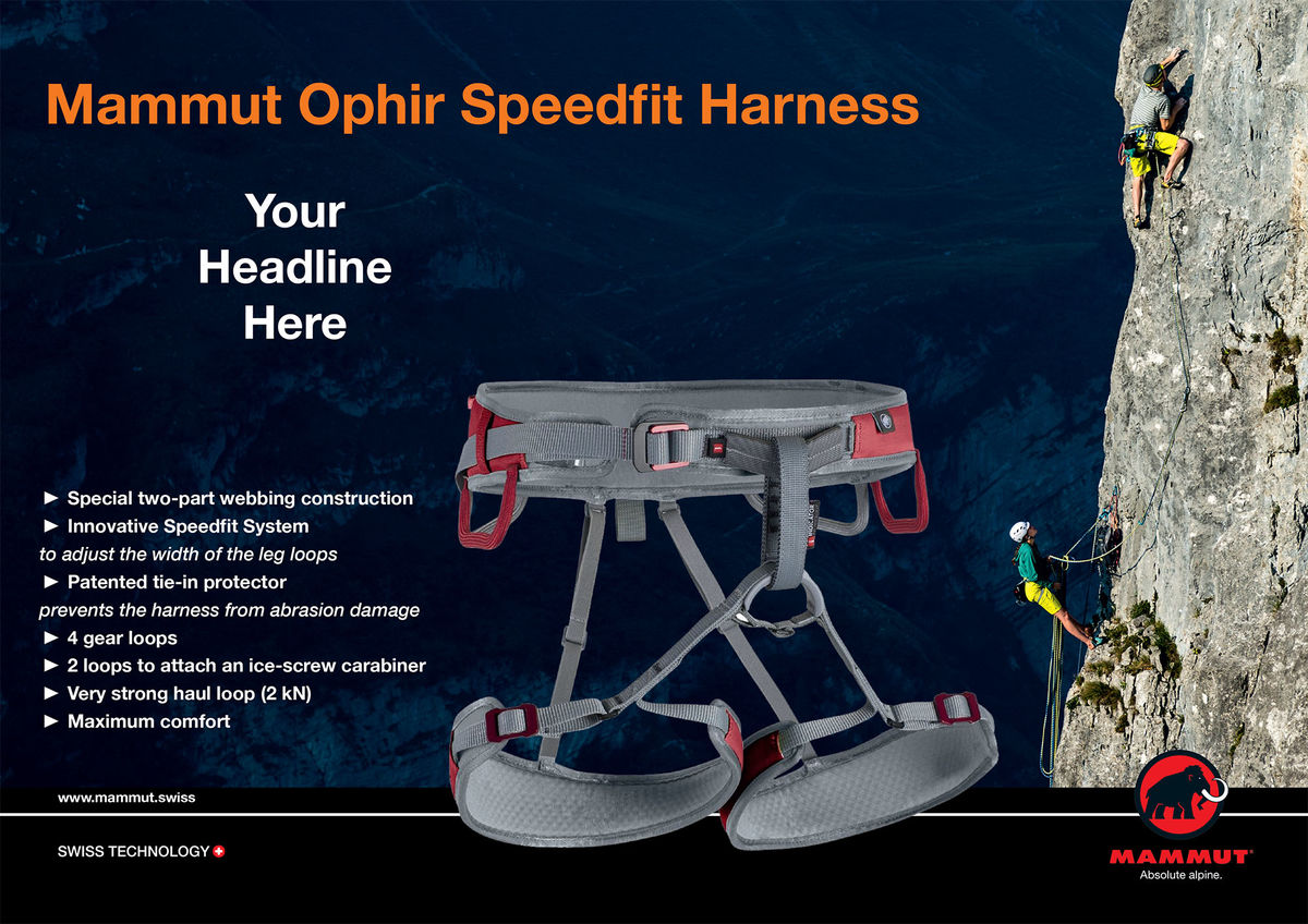 Mammut Ophir Speedfit Competition, 220 kb