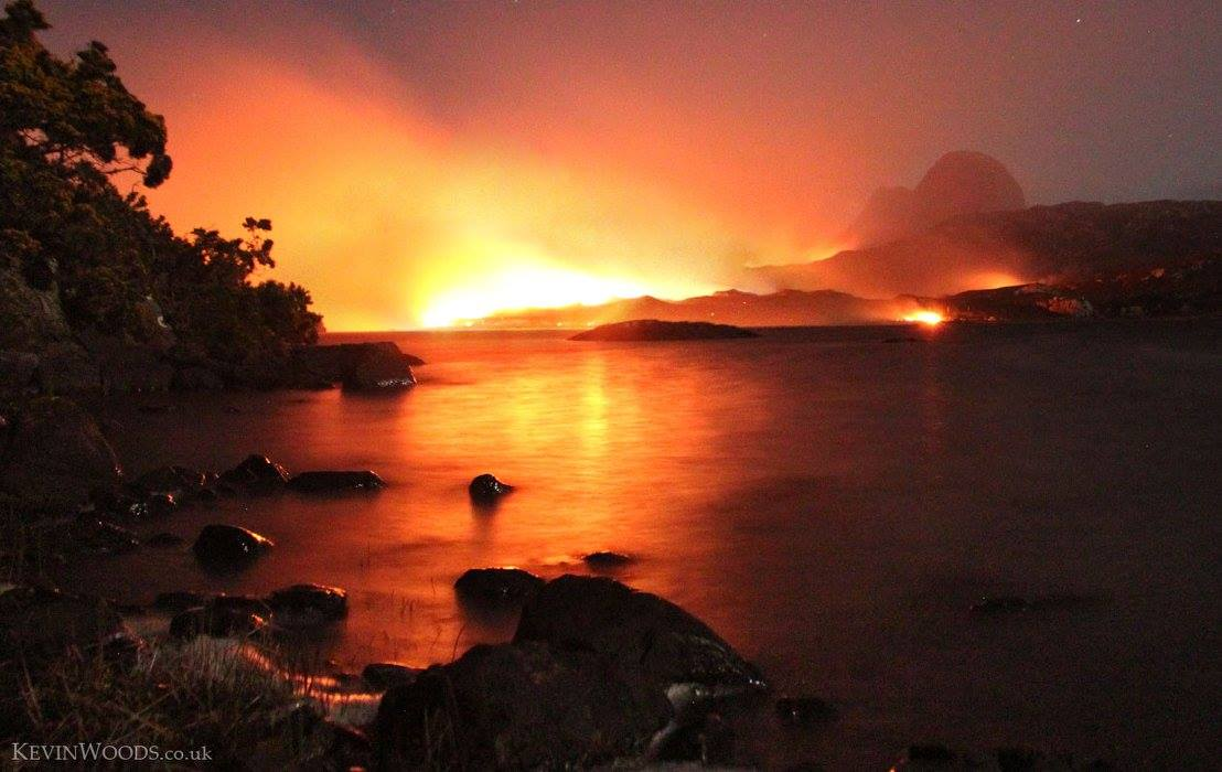 Suilven and the fire..., 86 kb