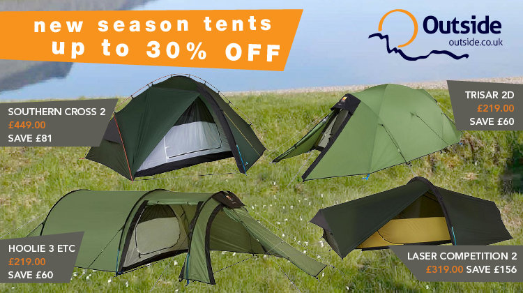 99 kb & UKC Gear - Save up to 30% on new tents from Terra Nova and Wild ...