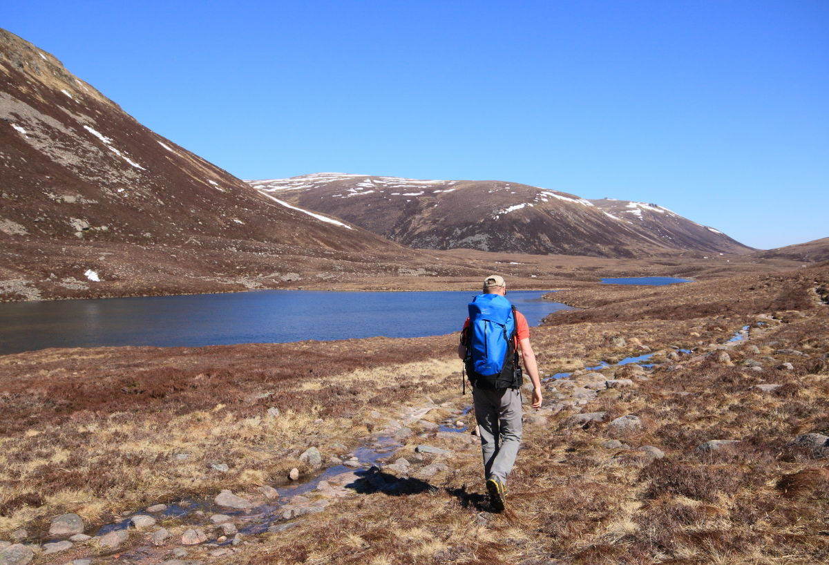 The Dubh Lochan is the absolute middle of nowhere , 225 kb
