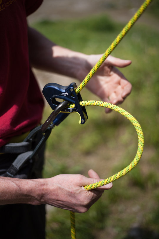 Assisted Breaking Belay Device Review - Salewa Ergo 3, 78 kb
